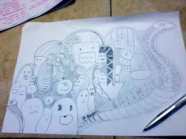 Nge-Doodle disela UAS OOP Teori