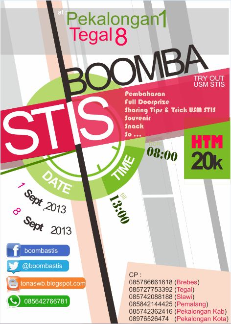 Poster Try Out USM STIS 2013